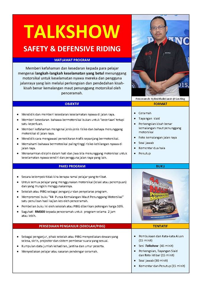 Talkshow Safety