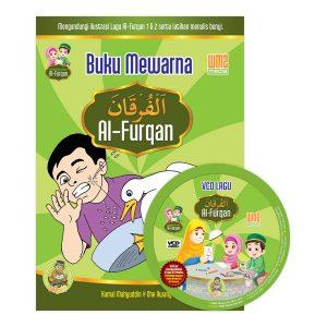 [2016]-Set-Buku-Mewarna-&-VCD-Lagu-Al-Furqan
